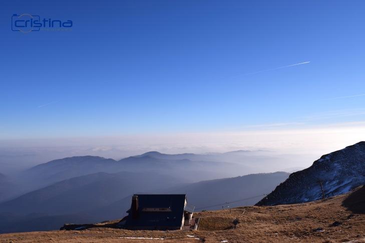 Peisaj munte cabana